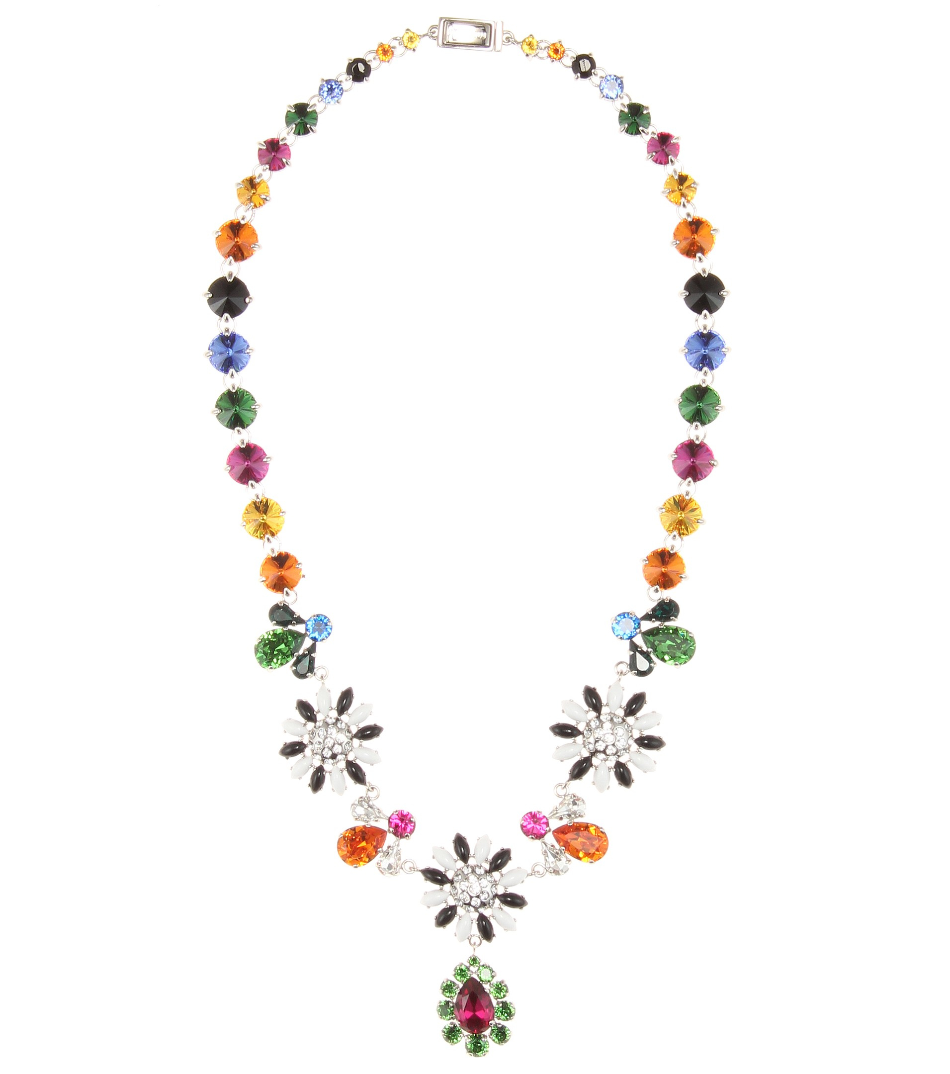 481429e554d6 Lyst - Miu Miu Crystal-embellished Necklace
