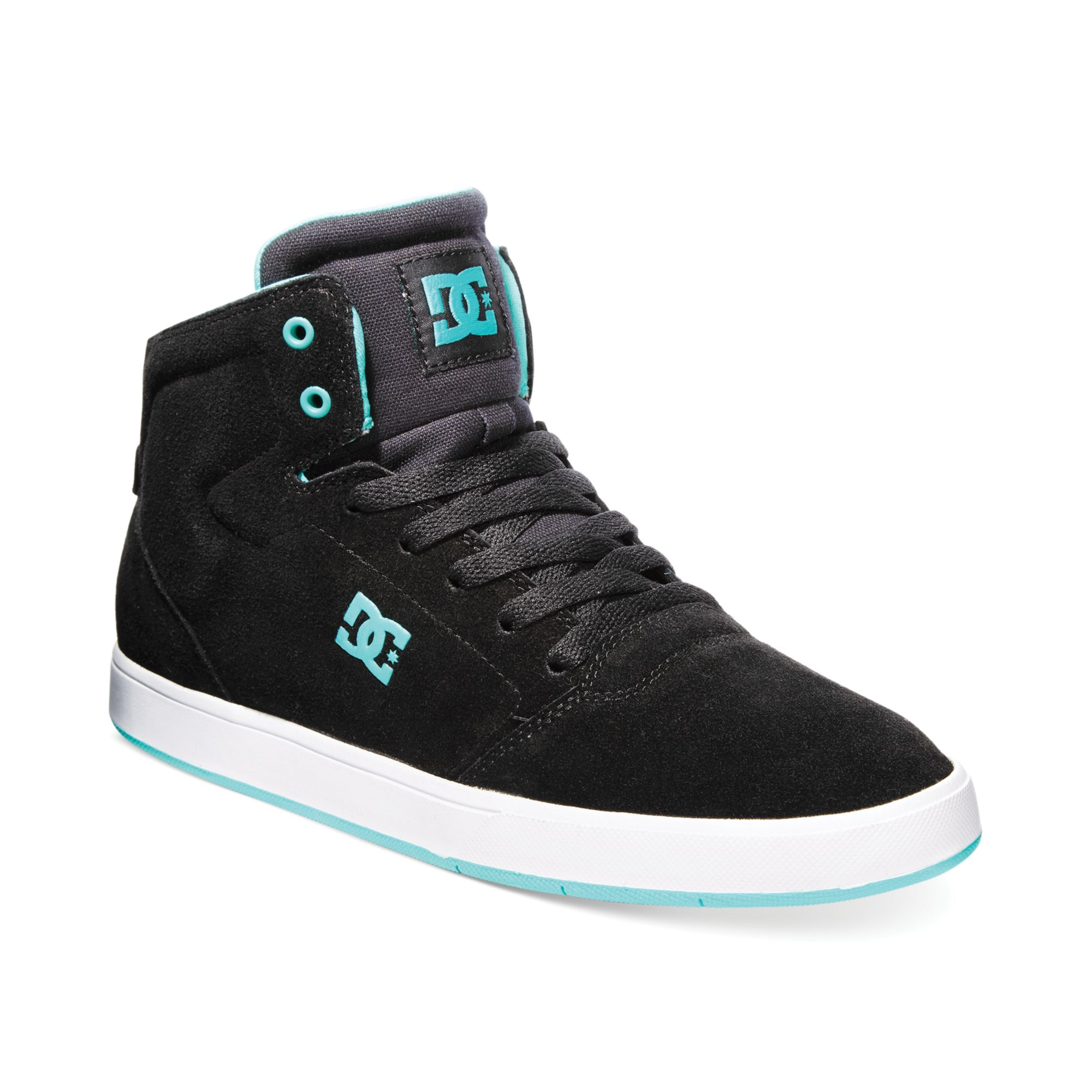 Dc Shoes Crisis High Sneakers In Black For Men Lyst