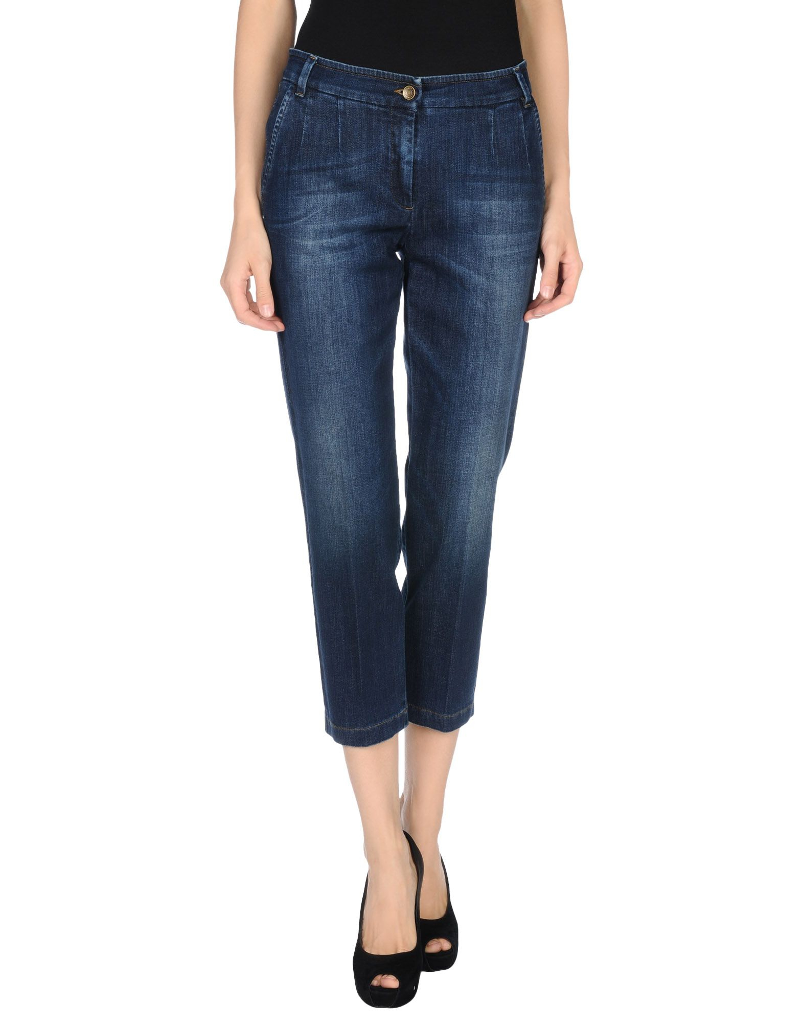 dolce gabbana denim trousers in blue lyst. Black Bedroom Furniture Sets. Home Design Ideas