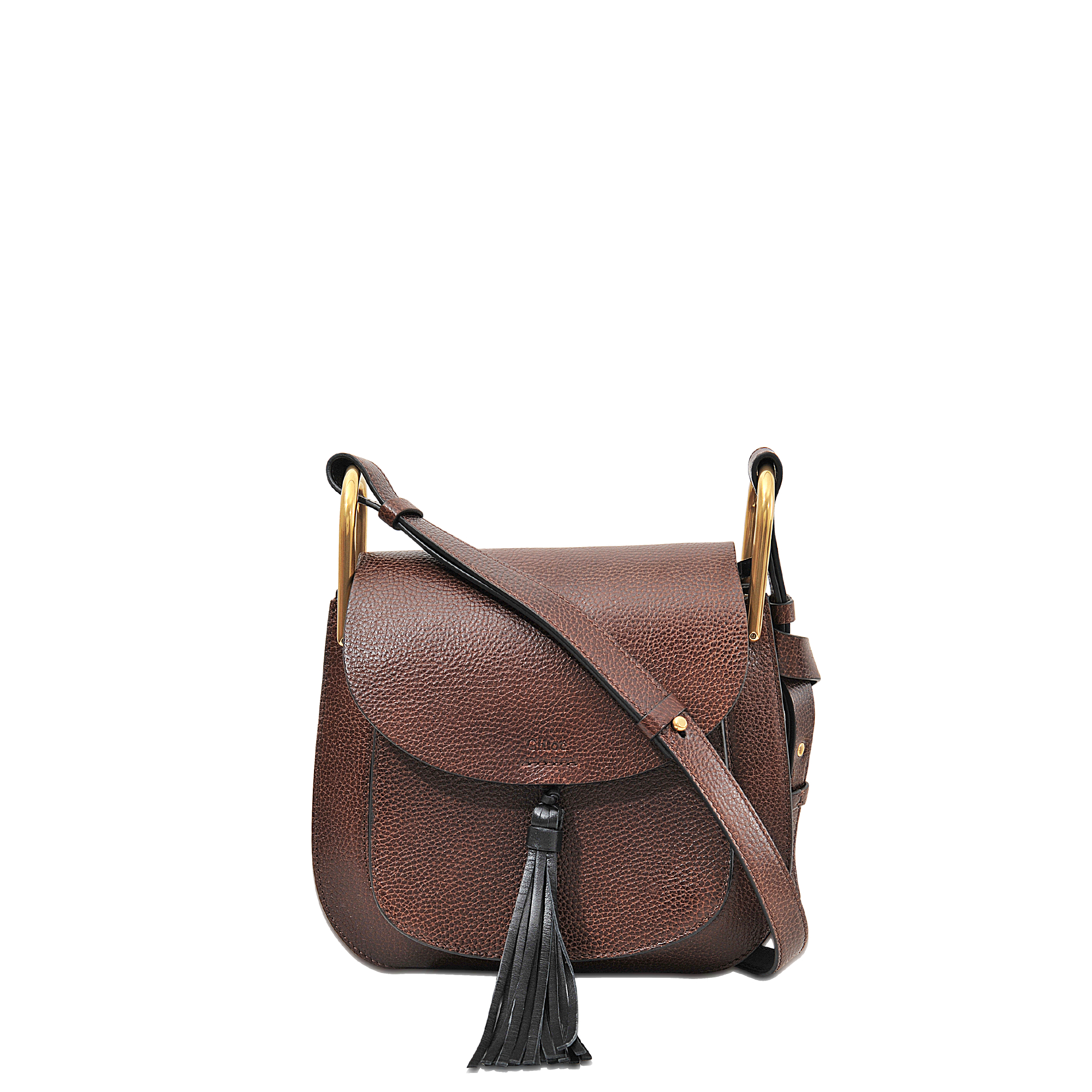 Chlo�� Hudson Small Shoulder Bag in Brown | Lyst
