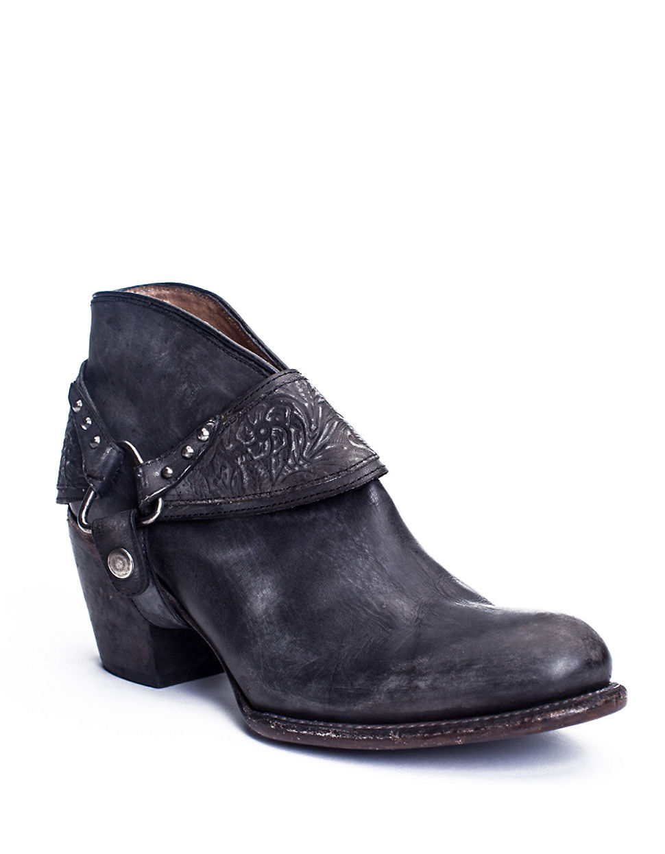 matisse danny leather ankle boots in black lyst