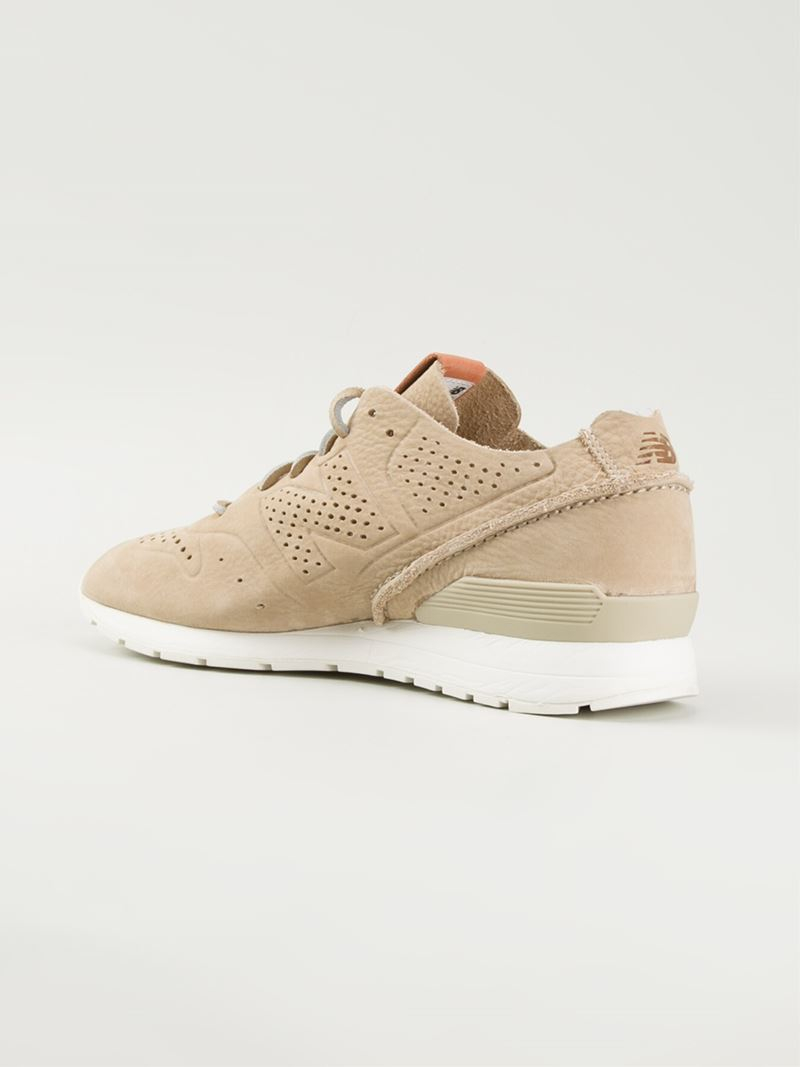 beige new balance sneakers mrl996