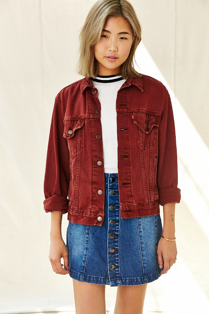 Shop for girls red denim jacket online at Target. Free shipping on purchases over $35 and save 5% every day with your Target REDcard.