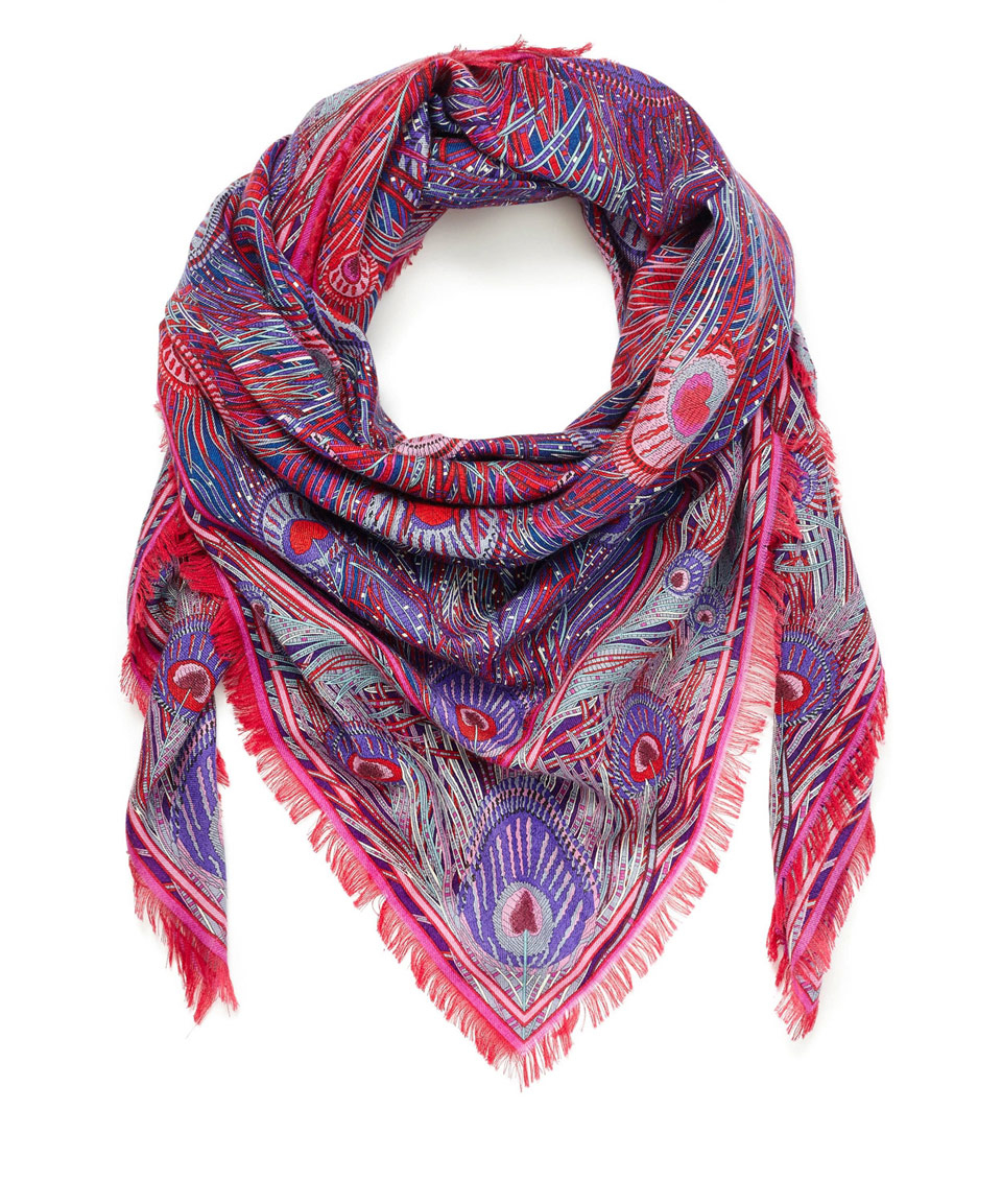 liberty hera blend scarf in lyst