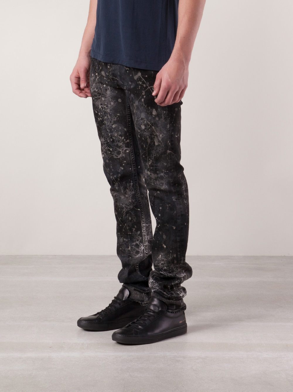 Camouflage Skinny Jeans For Men