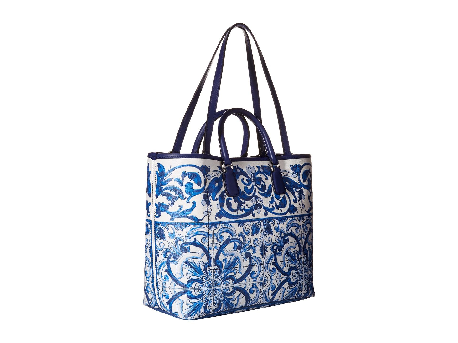 4dbf38a5f16e Lyst - Dolce   Gabbana Tote Bag in Blue