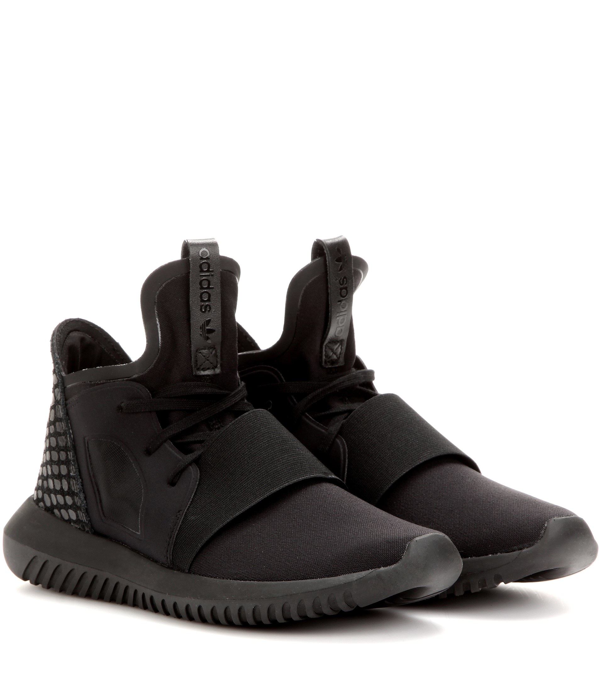 Adidas Men 's Originals Tubular Invader Strap Shoes Black BB 1398