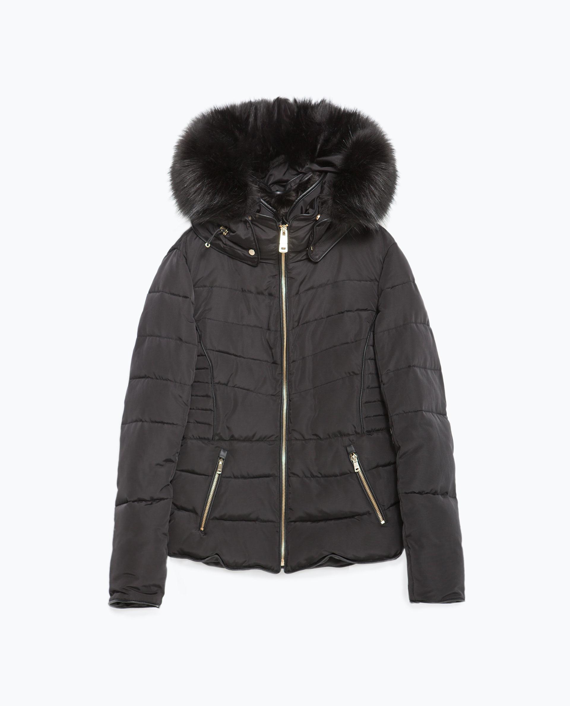 Black Quilted Coats - Sm Coats