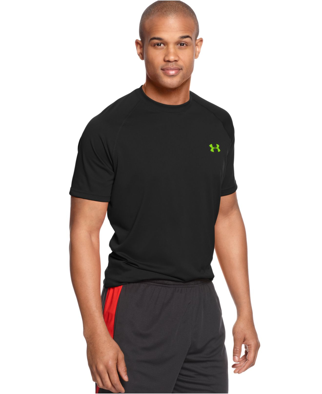 Lyst Under Armour Tech Short Sleeve T Shirt In White For Men