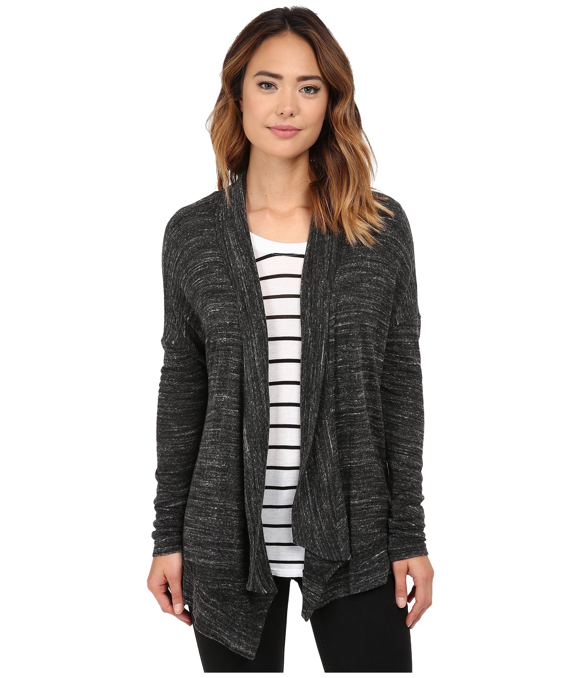 Michael stars Sweater Knit Long Sleeve Open Front Cardigan in ...