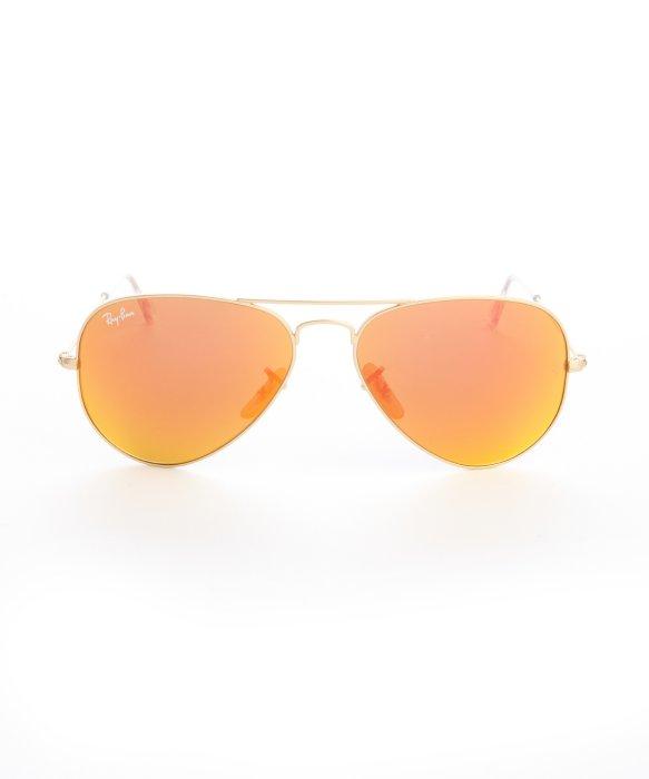 ray ban aviator flash lens orange - Holly's Restaurant and Pub