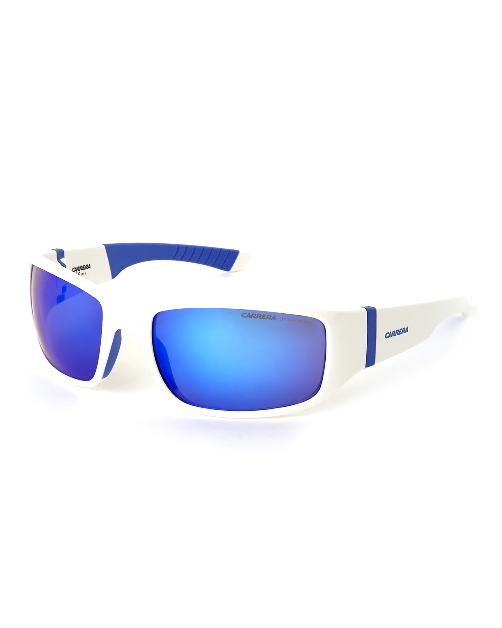 2a2f2d61c8a Lyst - Carrera White 4000 S Wrap Sunglasses in White