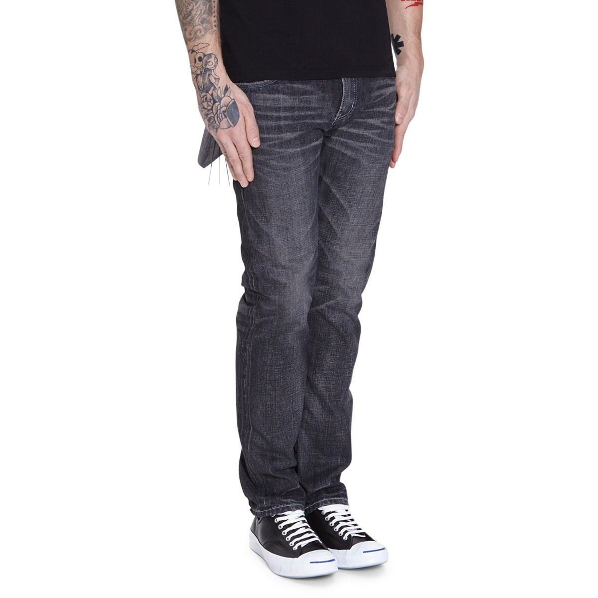 Lyst - Neighborhood Washed Narrow Pants In Blue For Men