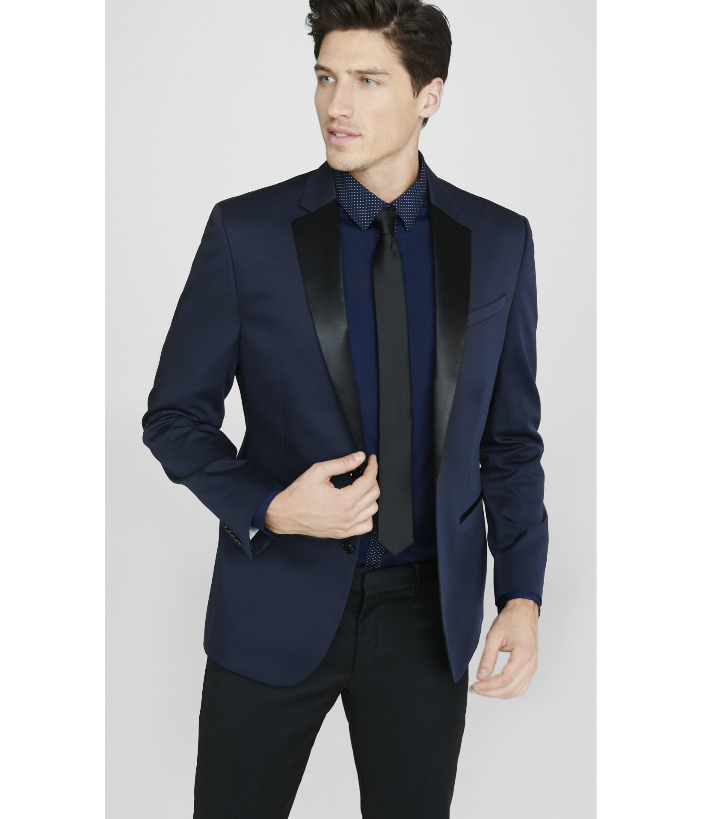 This elegant tuxedo by Calvin Klein features satin edging and details throughout, a modern, trim fit, and smooth, flat-front slacks% newuz.tk-button newuz.tk lapel with satin newuz.tk covered newuz.tk-front slacks, lined to the newuz.tked for tailoring to your newuz.tk newuz.tk newuz.tk Clean Only.