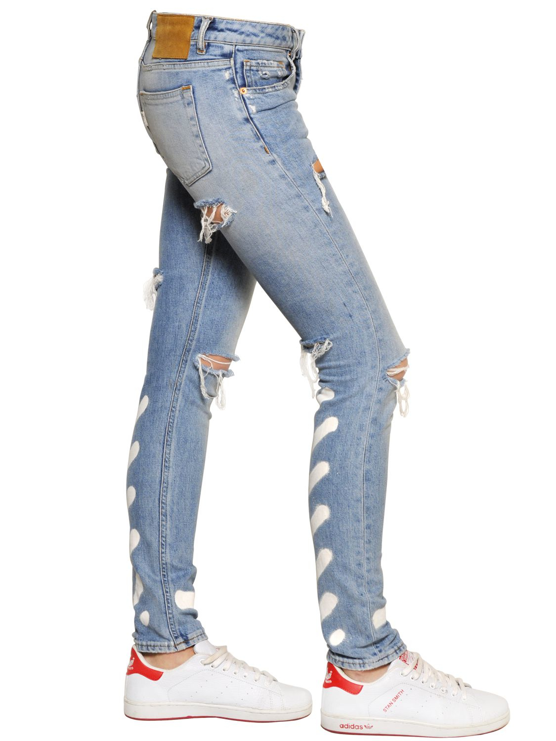 Off white women's jeans – Global fashion jeans collection