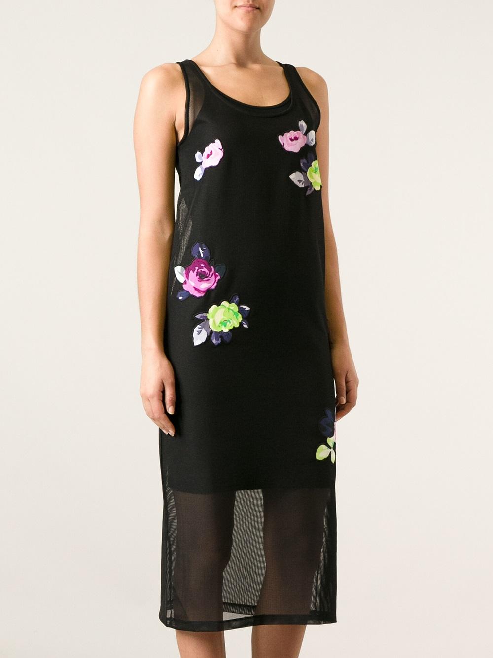 Carven Rose Appliqué Dress w/ Tags Sale 2018 fucypqzw