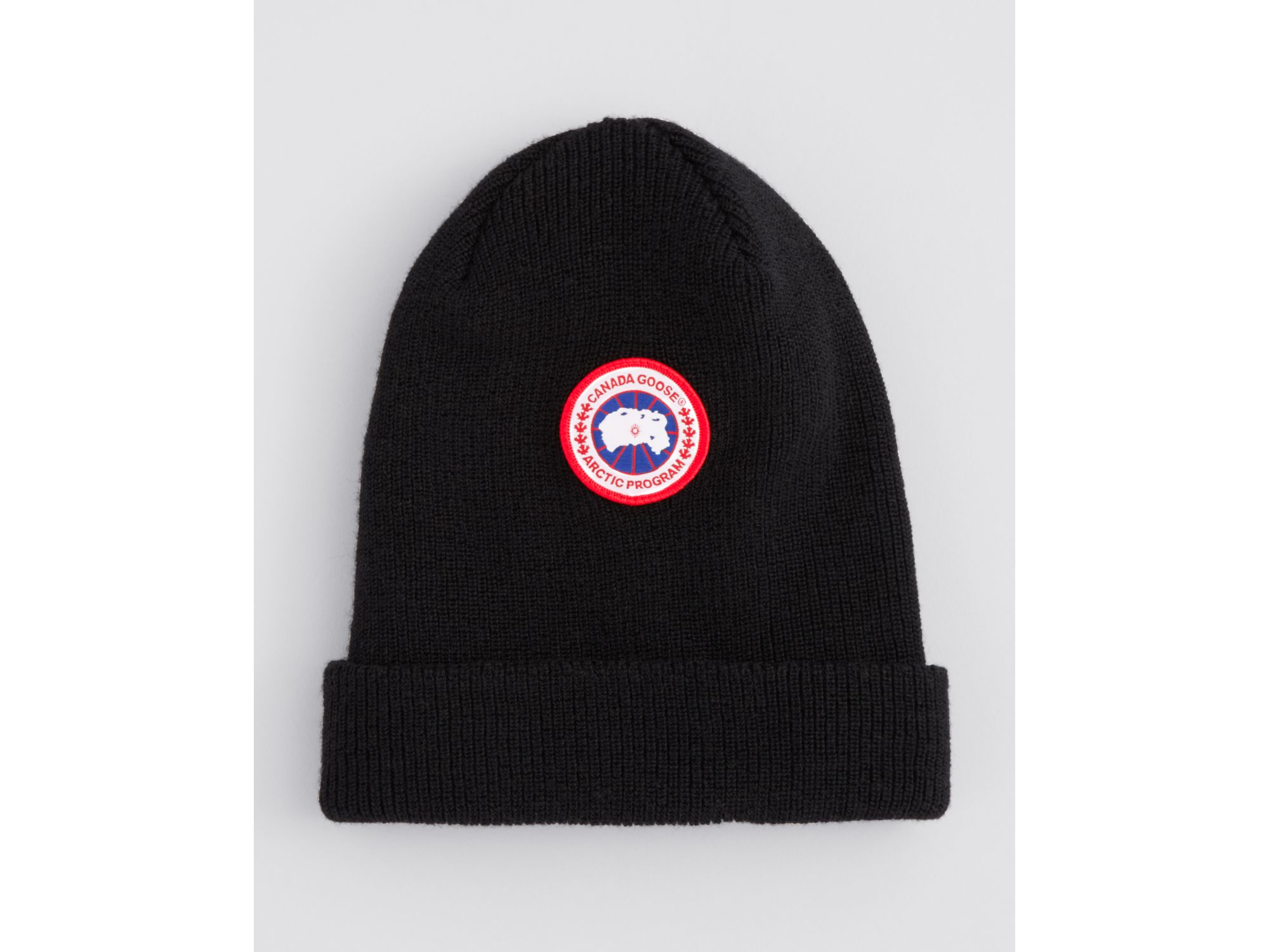 Lyst - Canada Goose Merino Wool Watch Cap in Black for Men ae93fac10dd