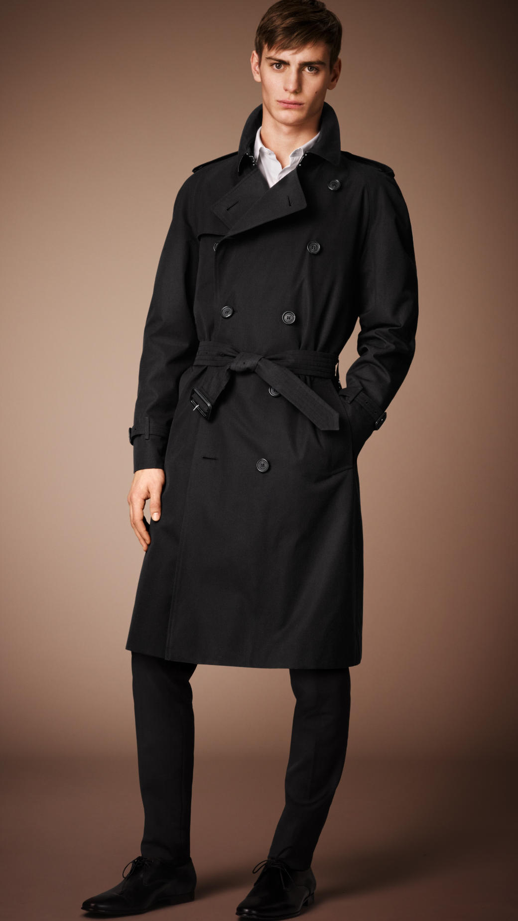 4655966d7892 Burberry The Westminster - Long Heritage Trench Coat in Black for ...