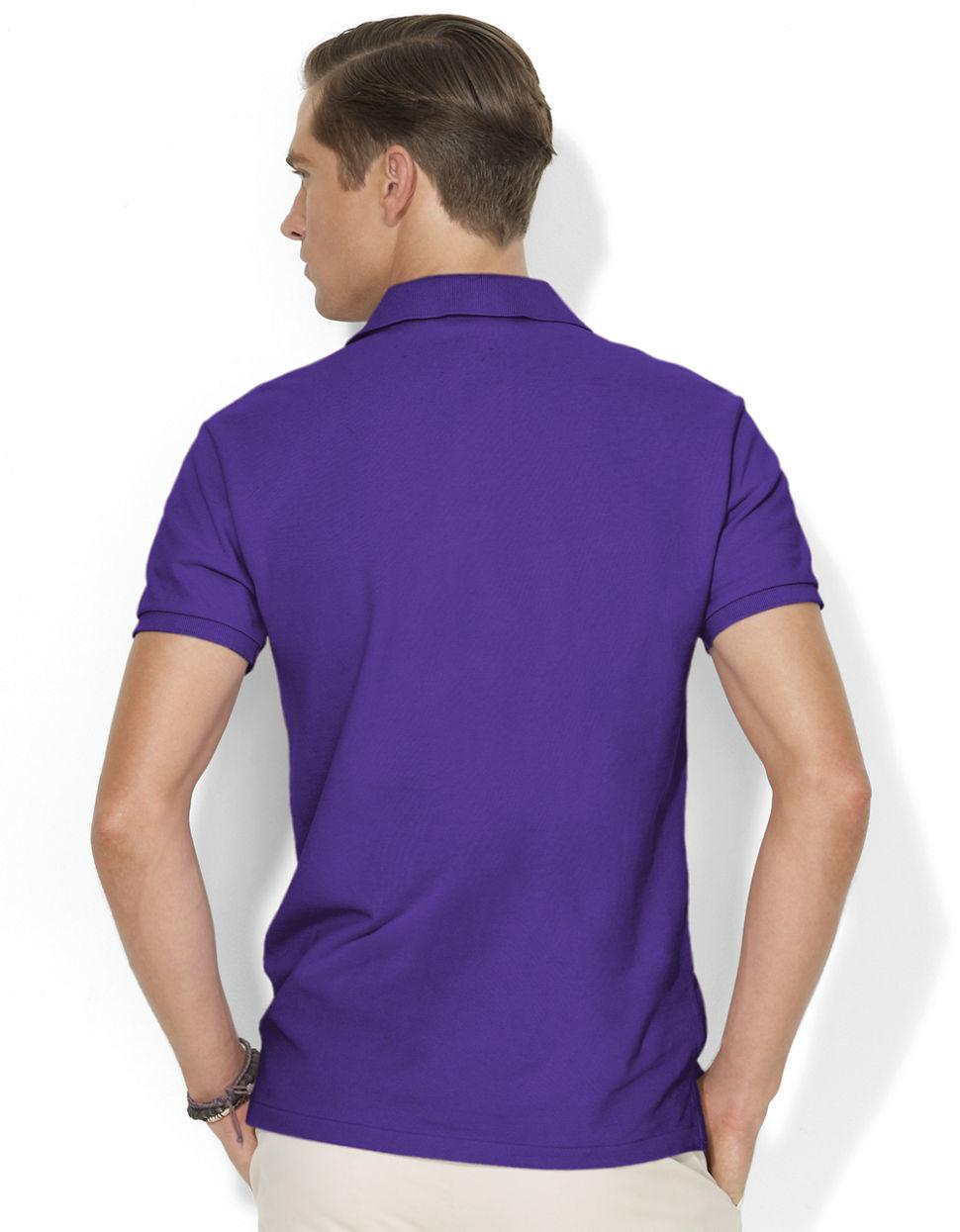 ... Ralph Lauren Men Mesh V neck Sweaters Purple ...
