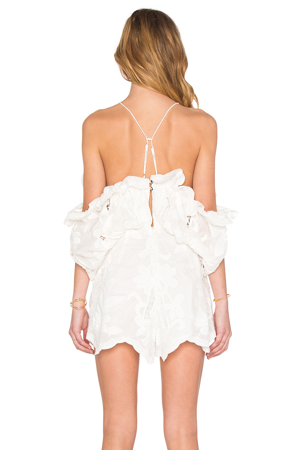 73178c35a1 Lyst - Alice McCALL Shake It Off Romper in White