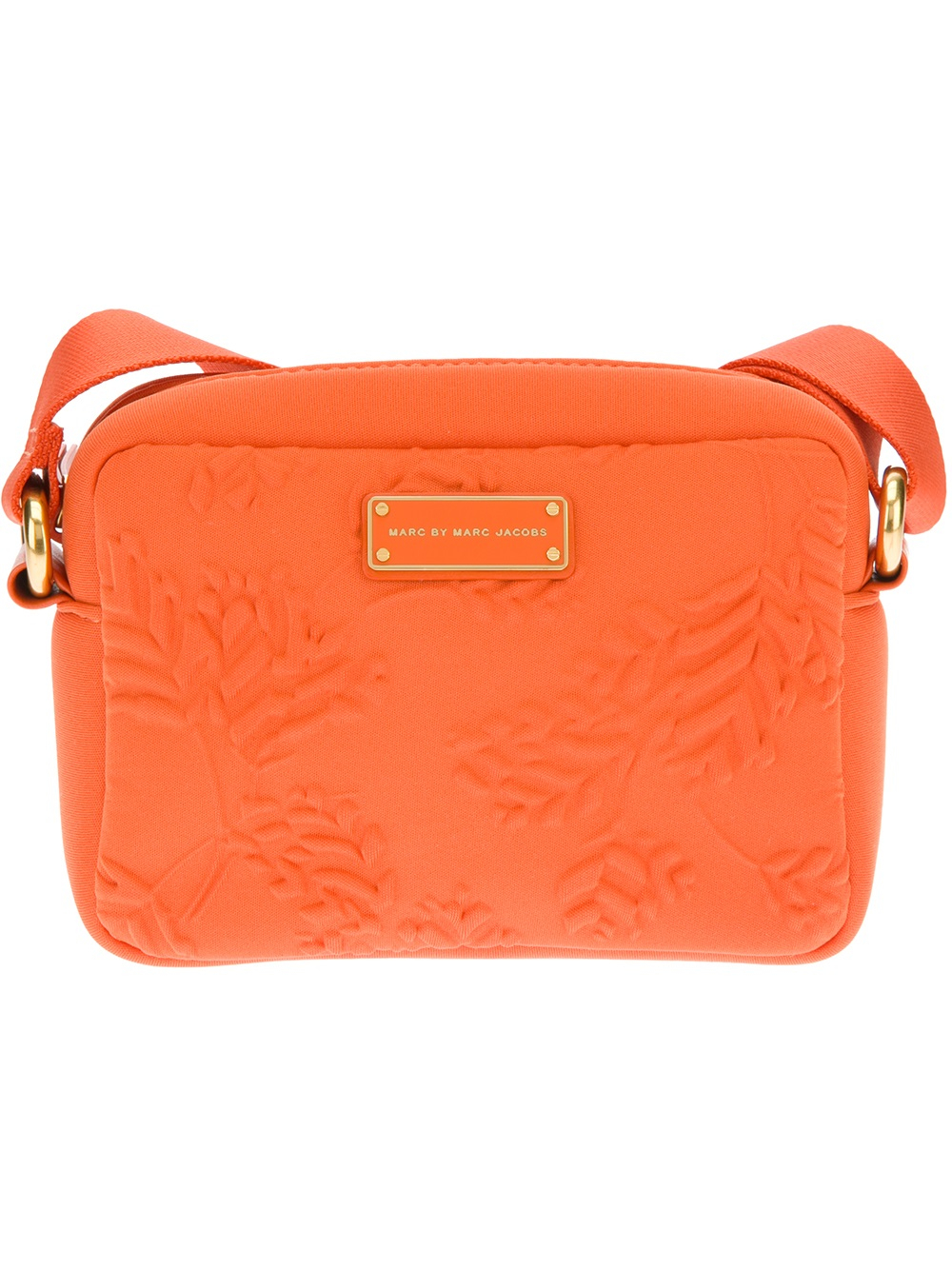 aeba80a3f818 Lyst - Marc By Marc Jacobs Embossed Cross Body Bag in Orange