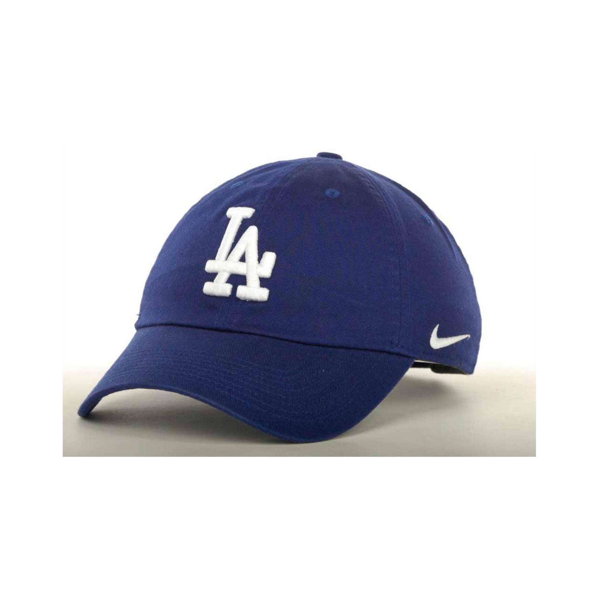 Lyst Nike Womens Los Angeles Dodgers Stadium Cap In Blue 8eb11dd08c