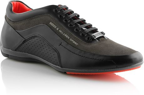 Boss Sneakers Larenno From The Mclaren Collection In Black