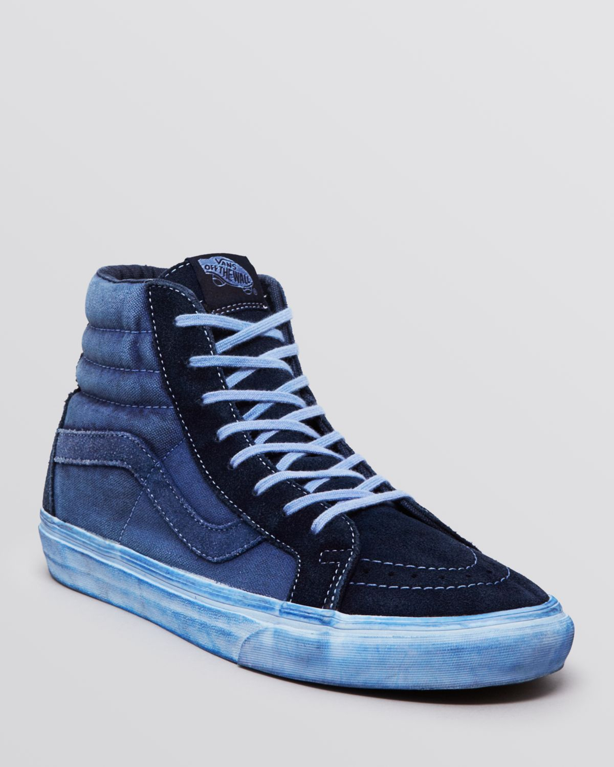 e41f99e483 Lyst - Vans Sk8 High Top Reissue Ca Sneakers in Blue for Men