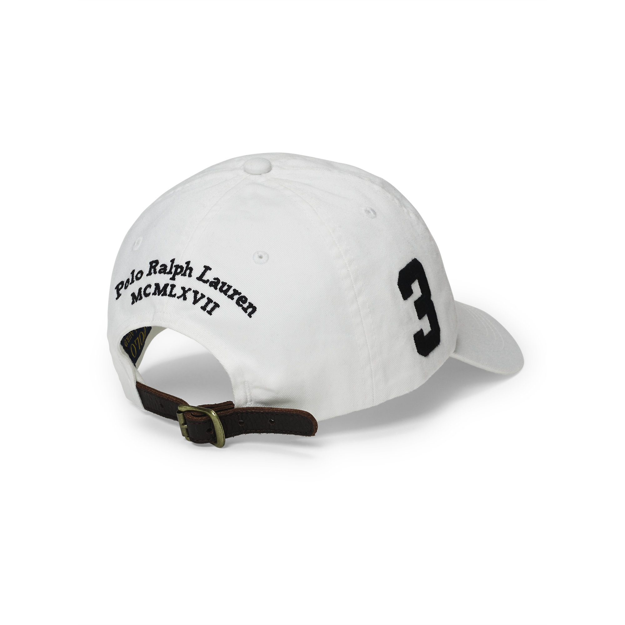 c70437e736827 Polo Ralph Lauren Big Pony Chino Baseball Cap in White for Men - Lyst