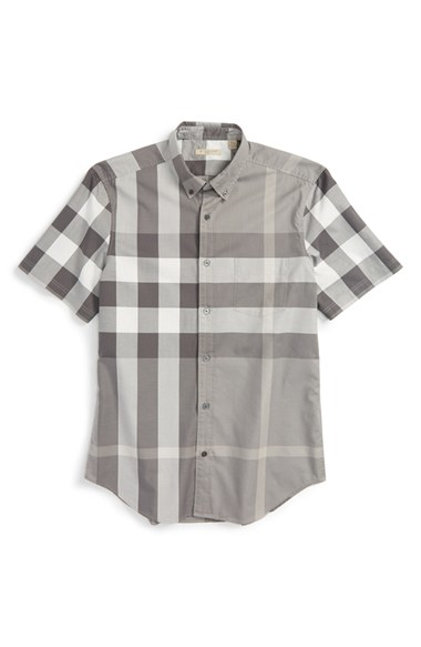 shortsleeved shirt - White Burberry Enjoy Shopping 3rWPf4h