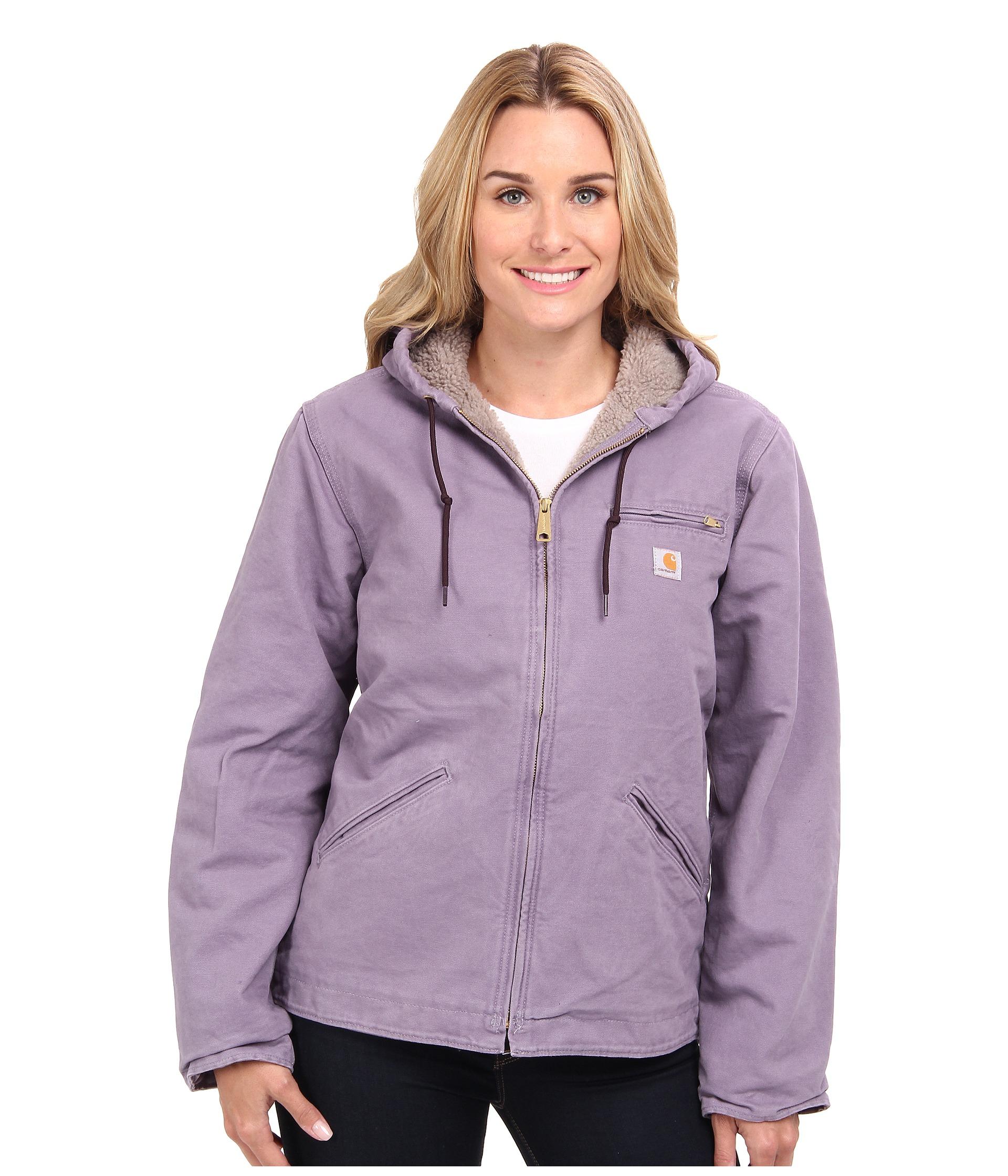 21997ab768 Carhartt Sandstone Sierra Jacket in Purple - Lyst