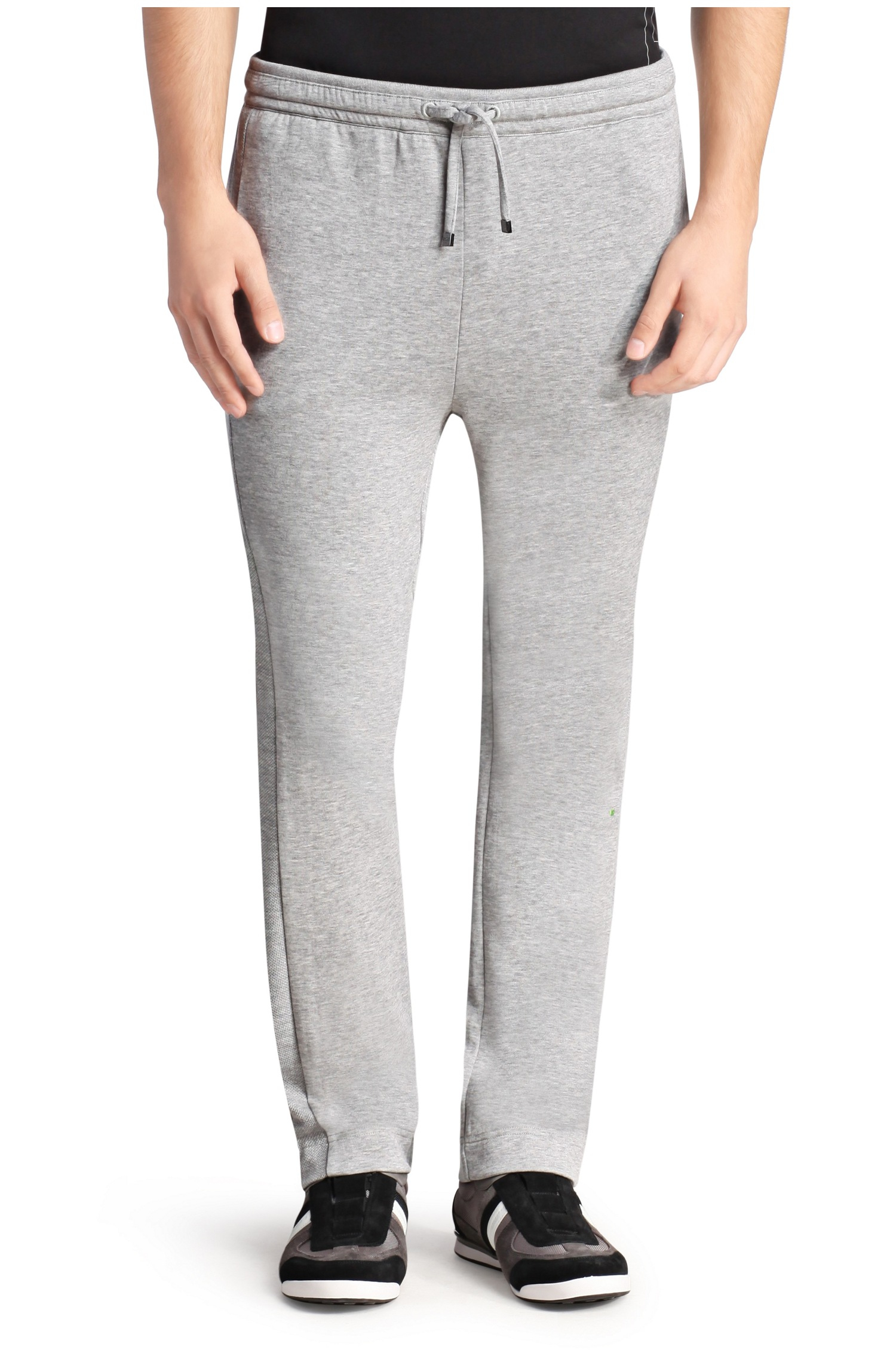 e847f3b10 BOSS Green Tracksuit Bottoms In Cotton Blend: 'hadim' in Gray for ...