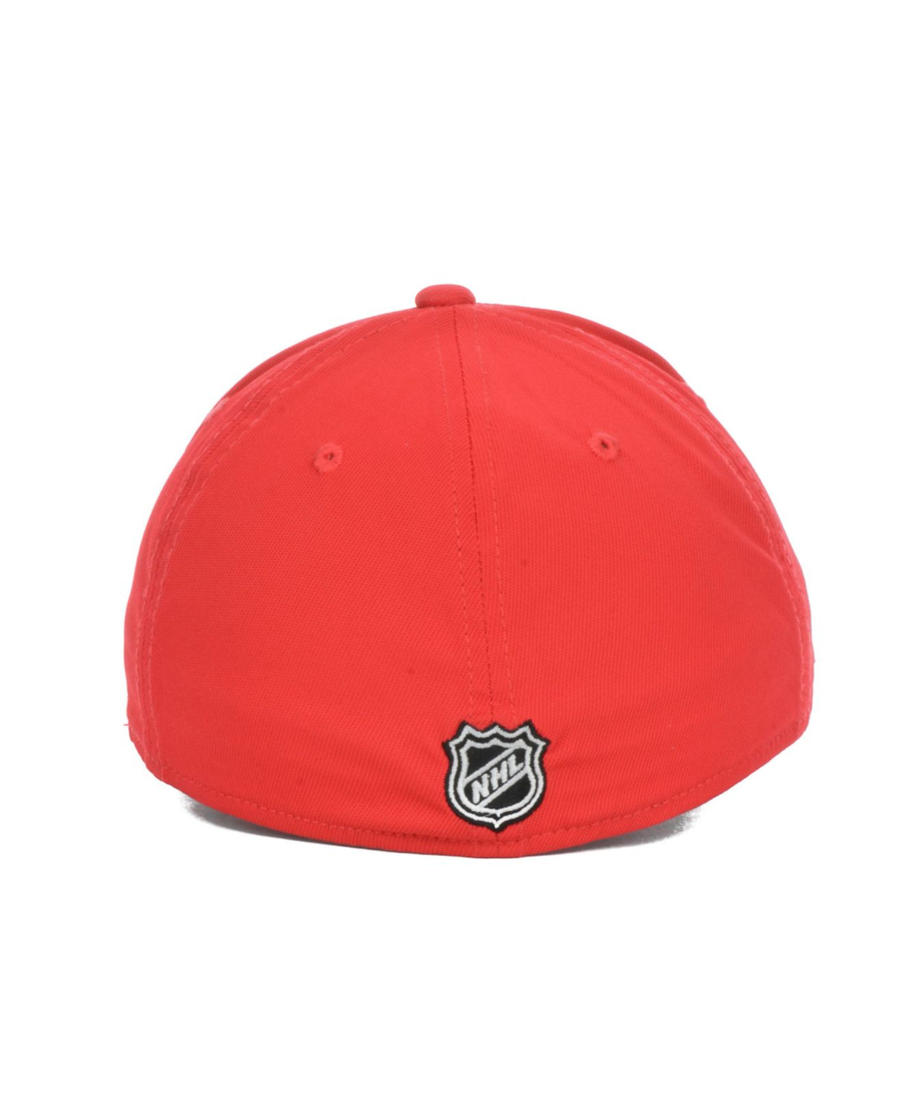 963971bc581c ... france lyst reebok detroit red wings authentic locker room flex cap in  a413b 6e9d2