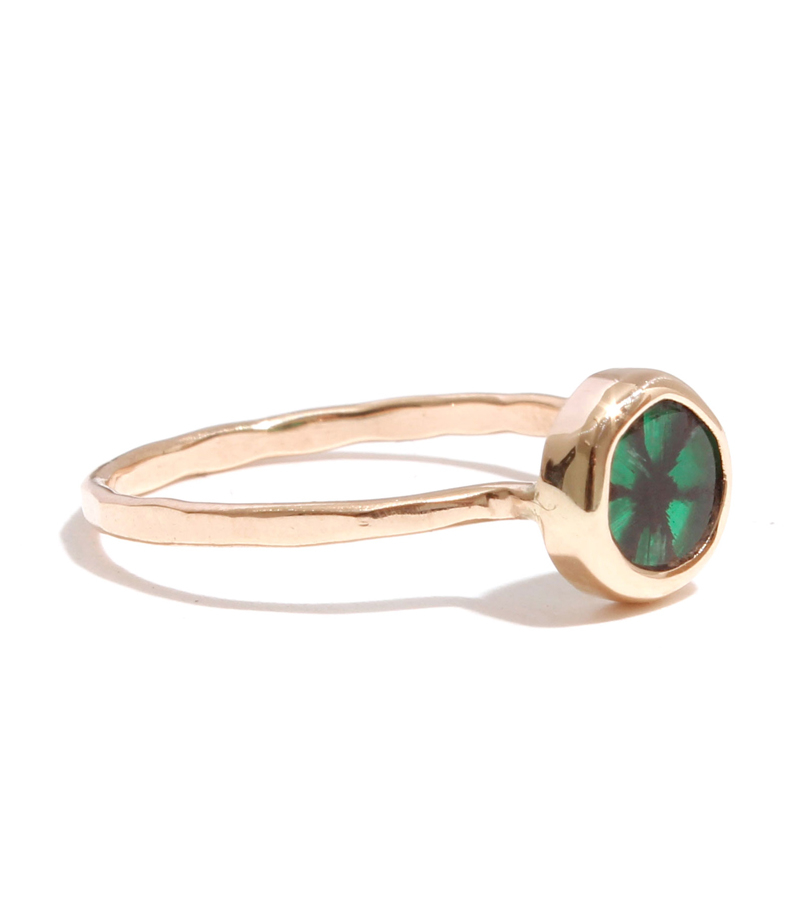 manning trapiche emerald ring in green lyst