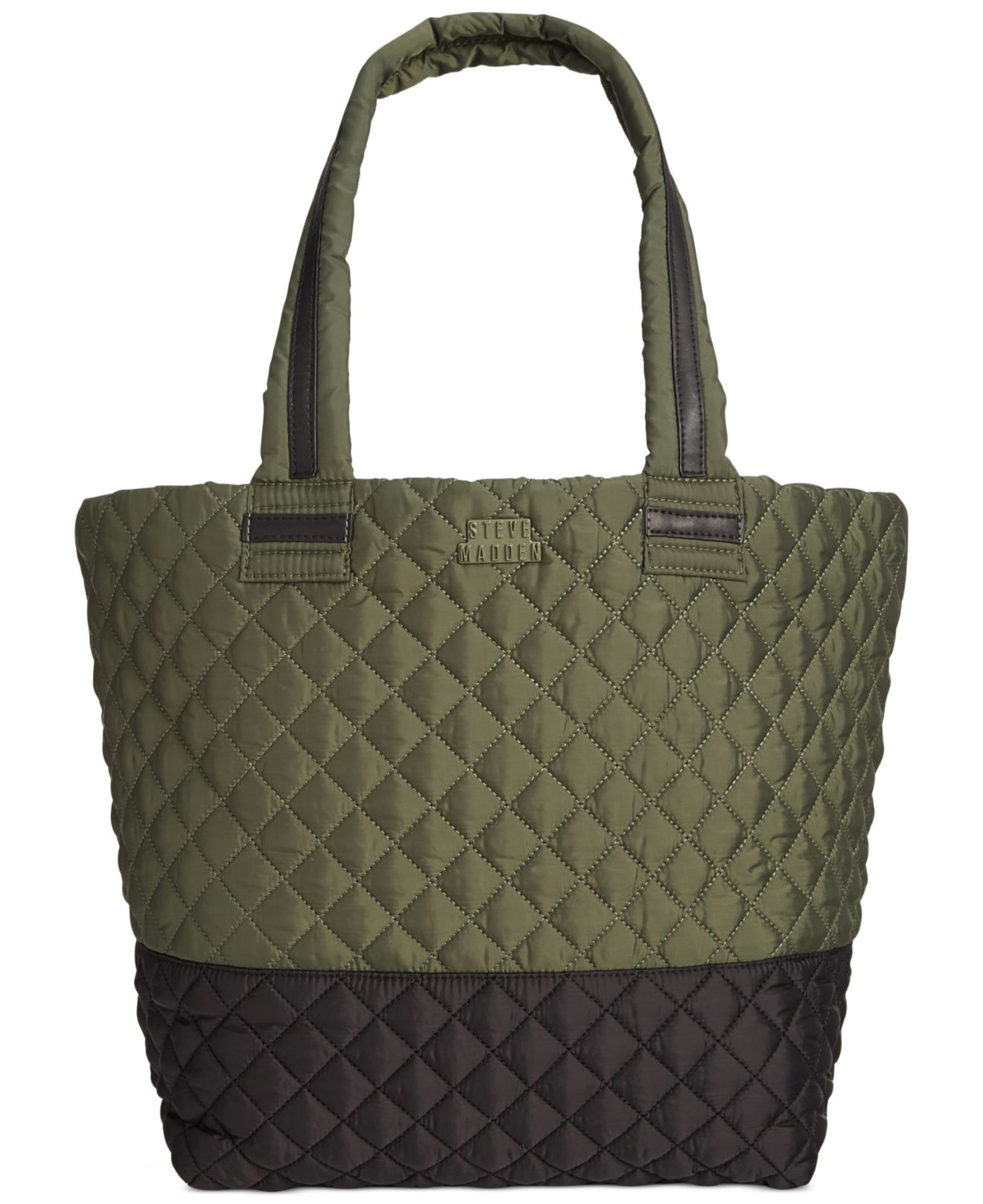 Steve Madden Broverr Quilted Active Tote In Green Lyst