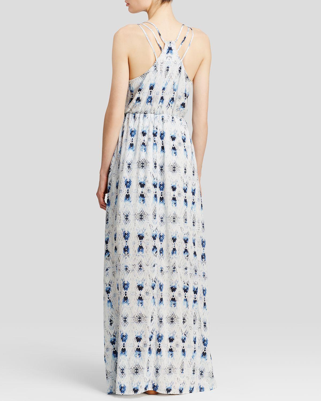 BB Dakota Karlene Batik Print Maxi Dress
