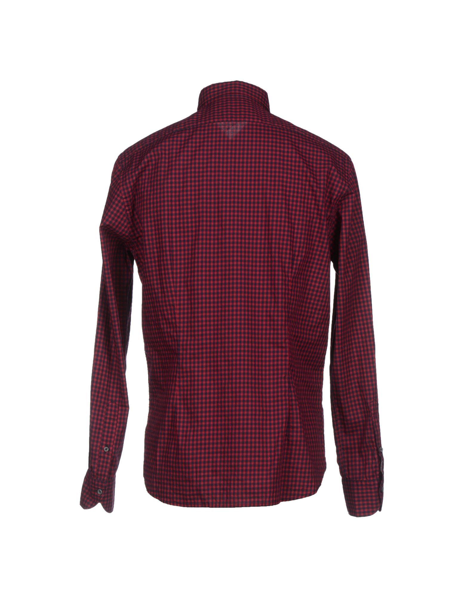 1 by xacus shirt in purple for maroon lyst