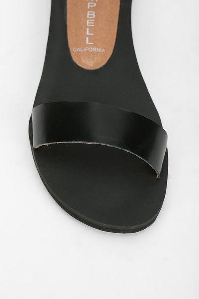 Jeffrey Campbell Islip Anklewrap Sandal In Black Lyst