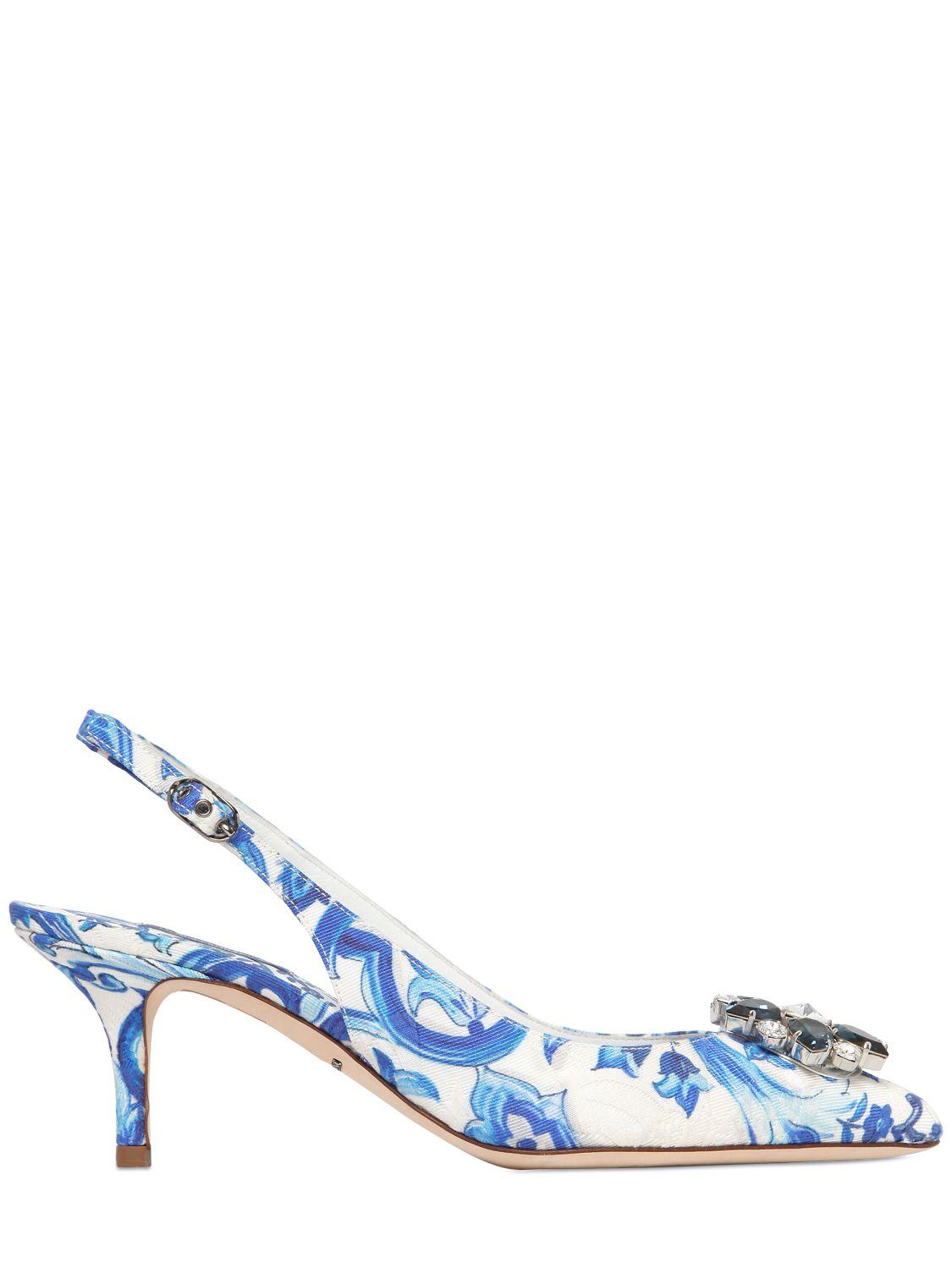Dolce & Gabbana Brocade Slingback Pumps discount finishline best prices best sale cheap online cheap sale manchester great sale popular sale online tyuTS9Y1