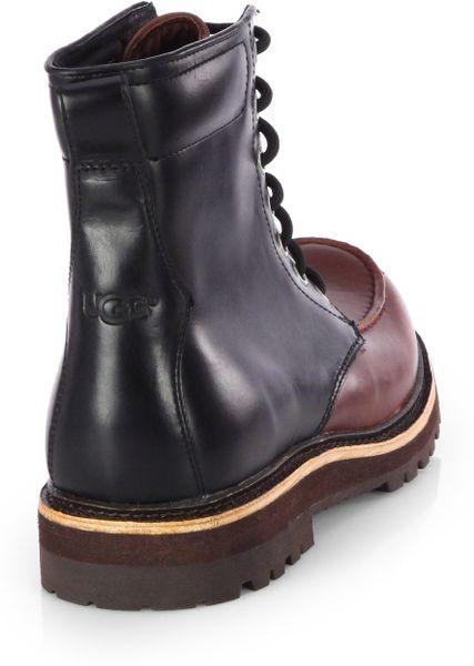 Ugg Noxon Waterproof Boots In Brown For Men Lyst
