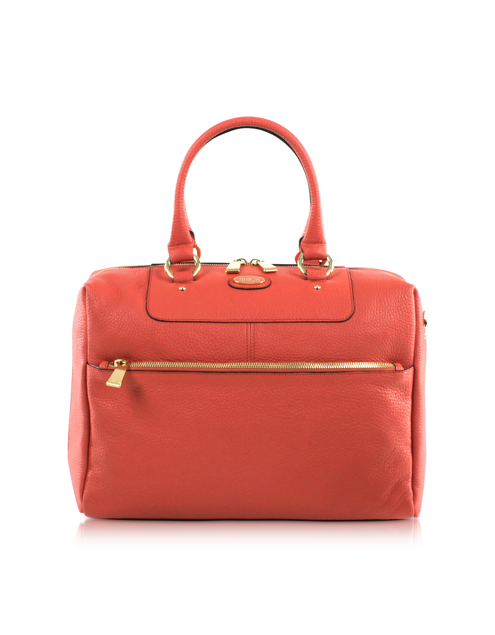 Borse Bag Verona : Bric s verona leather satchel bag in pink lyst