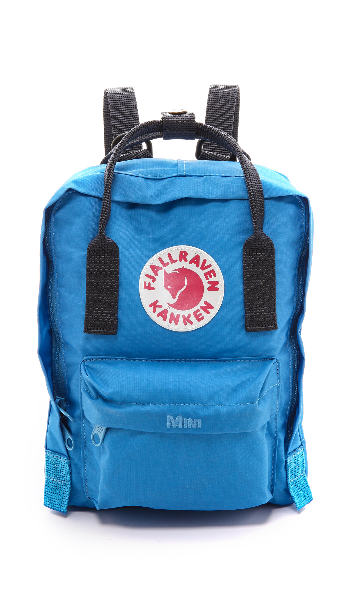 fjallraven kanken mini backpack un blue navy in blue un. Black Bedroom Furniture Sets. Home Design Ideas