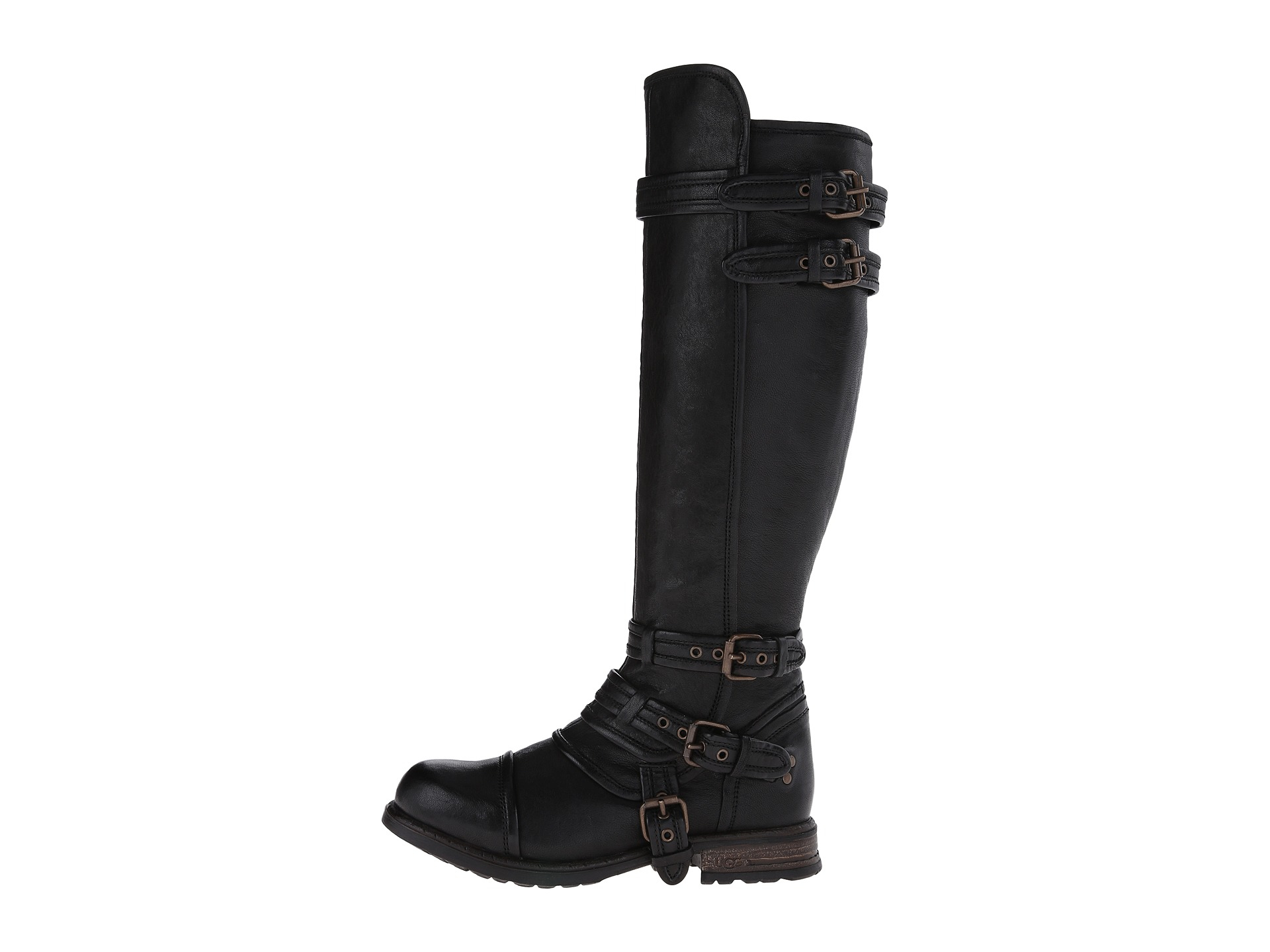 Womens Boots UGG Collection Beta Black Leather