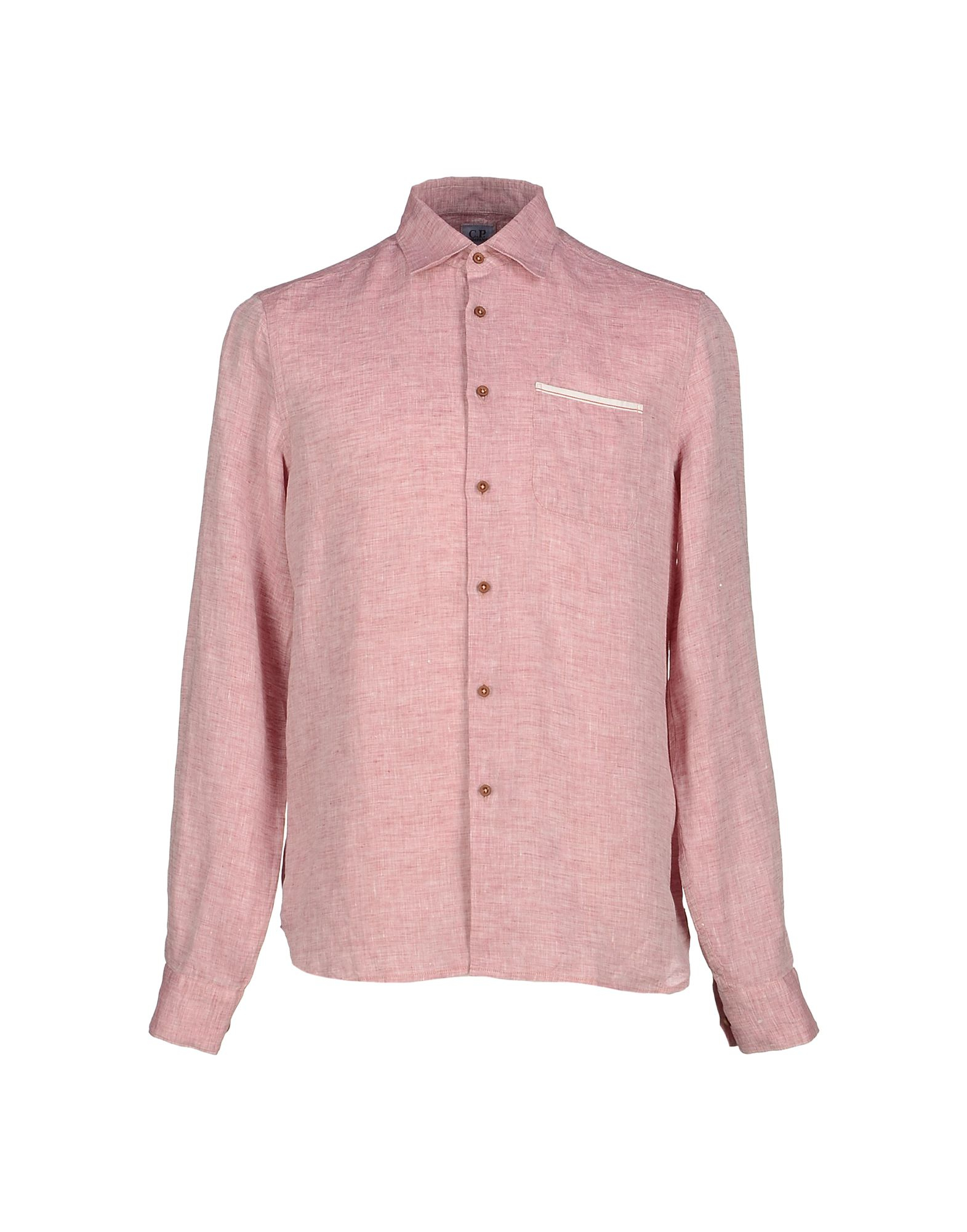 Lyst c p company shirt in pink for men for Pastel colored men s t shirts