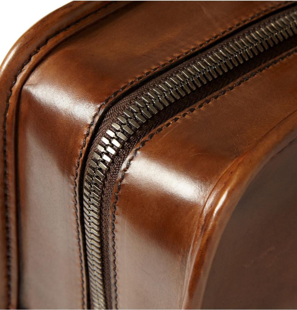 Berluti Un Jour Venezia Leather Briefcase In Brown For Men