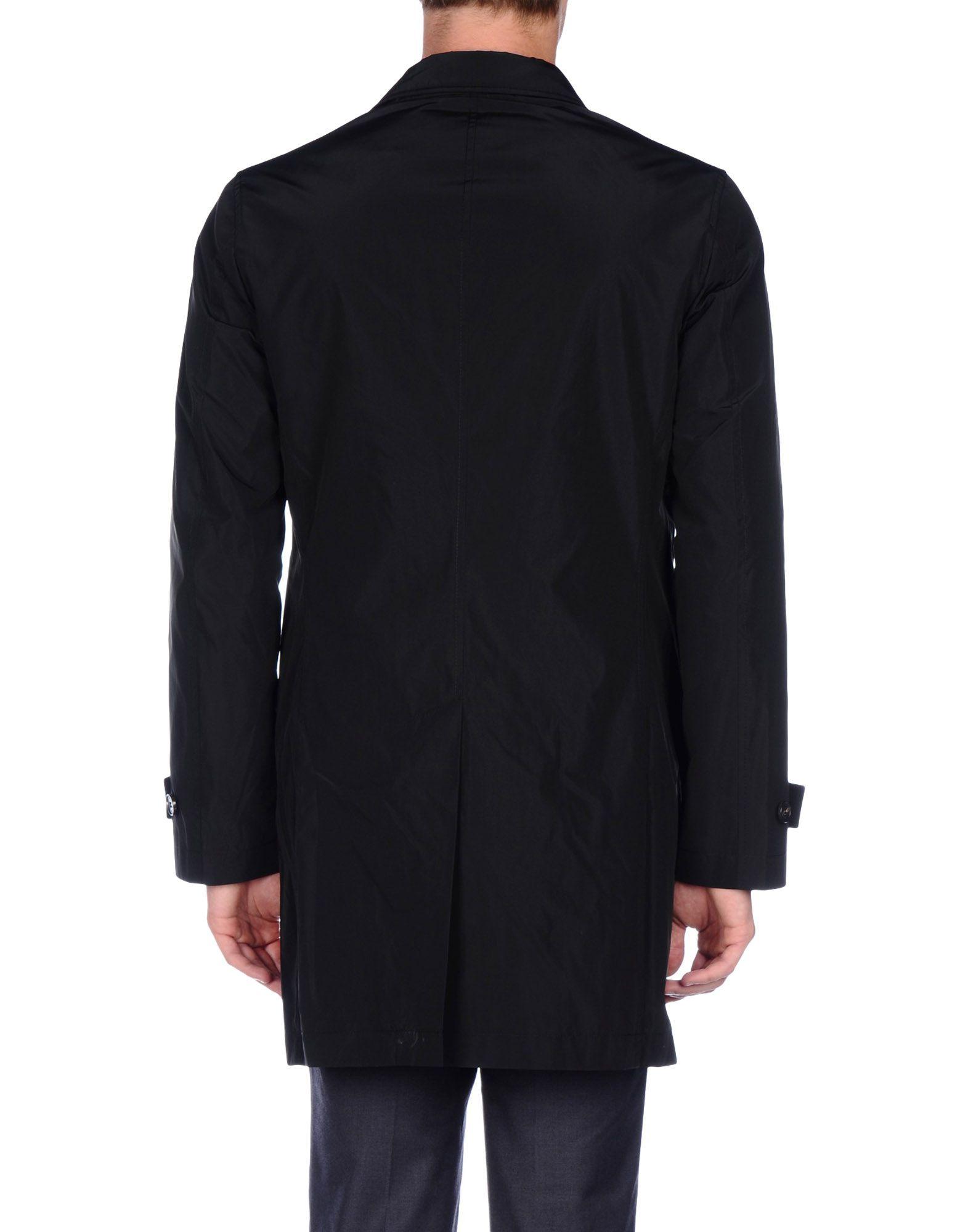 Lyst - Calvin Klein Jeans Full-length Jacket in Black for Men