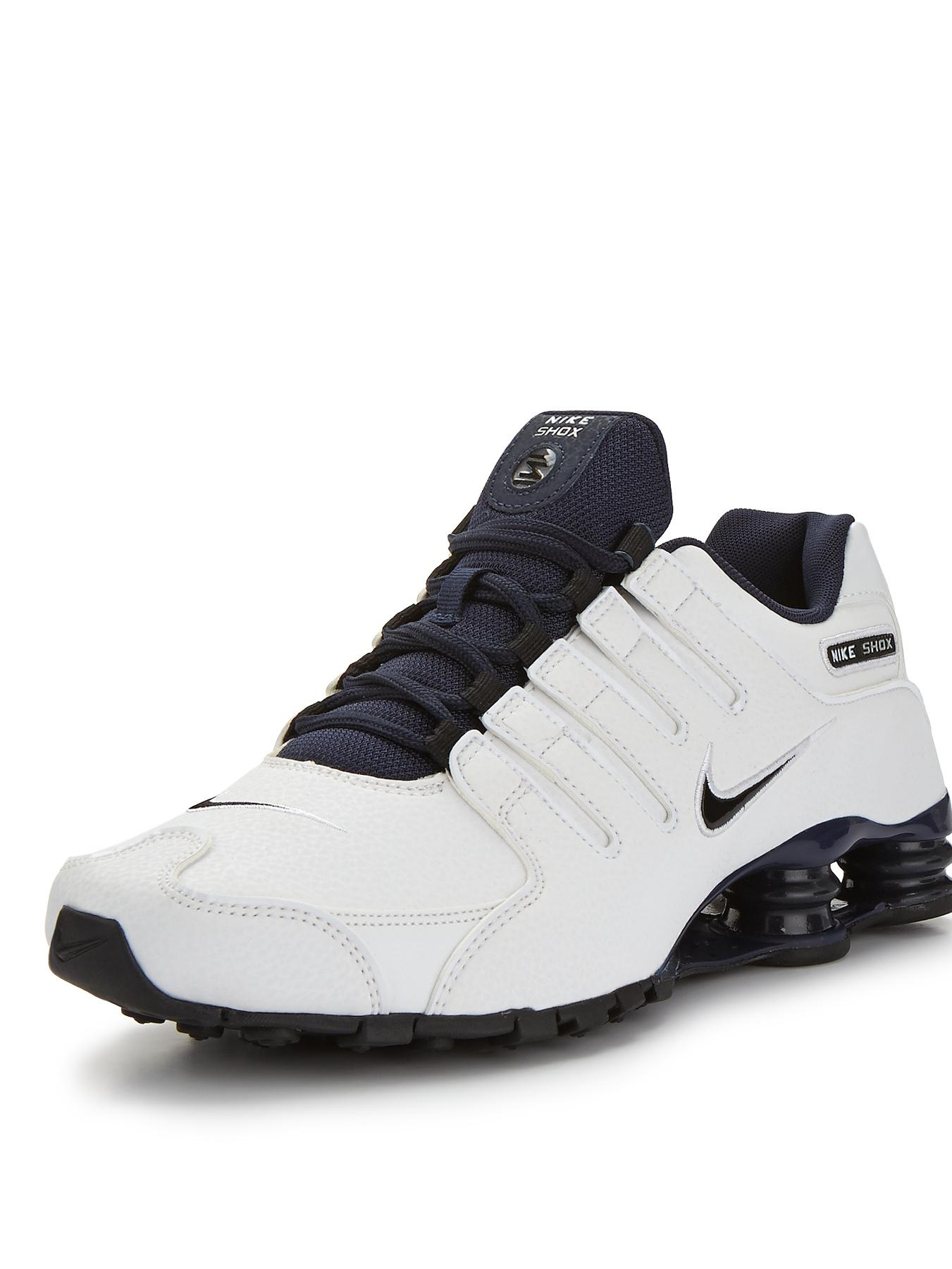 Nike Shox Leather Black