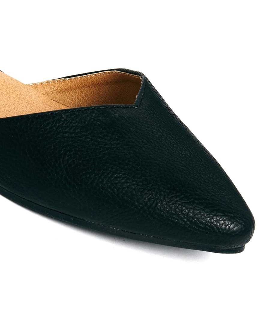 Oasis Flat Brown Suede Shoes
