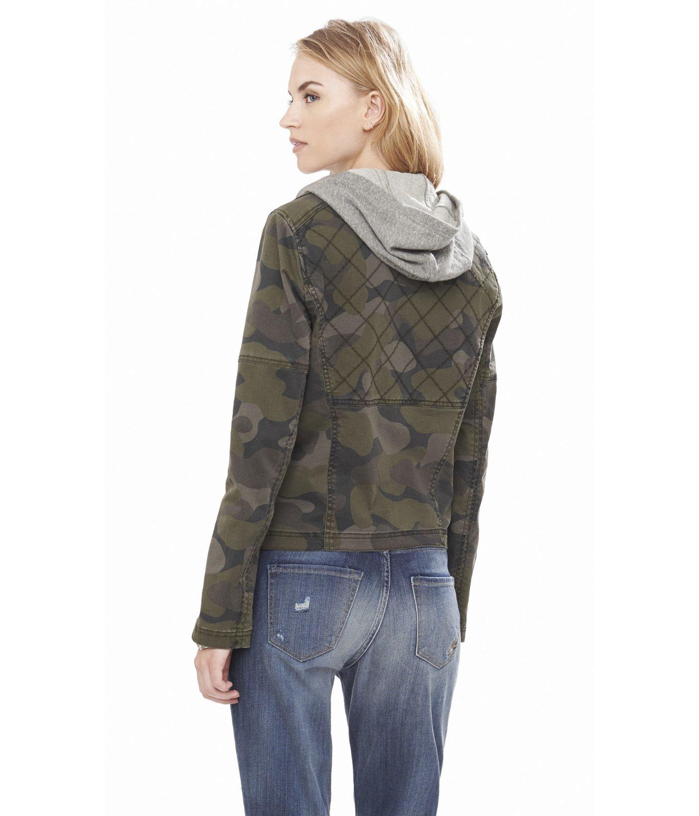 Camouflage jacket express