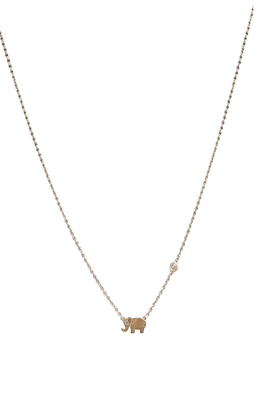Sydney Evan Collar Necklace w/Mini Diamond Bezel Cross Charm e4unAzNIKD